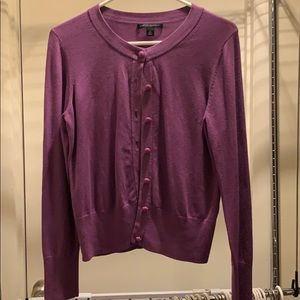 Banana republic purple sweater